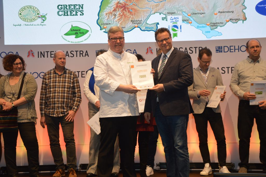 GREEN CHEFS erhalten Auszeichnung für Engagement um nachhaltige Gastronomie